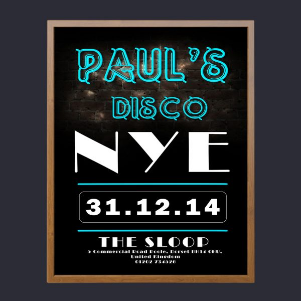 Paul's Disco Promotional Poster